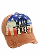 Wild and Free Cotton Baseball Hat inset 2