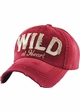 Wild At Heart Distressed Vintage Ballcap inset 3