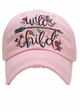 Wild Child Vintage Baseball Hat inset 2