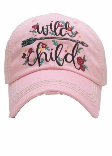 Wild Child Vintage Baseball Hat
