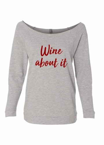 Wine About It Shoulder Tee