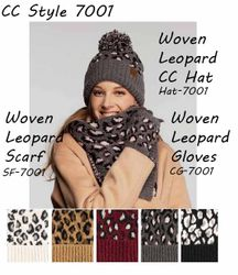 CC Collection #701 Woven Leopard Knitwear