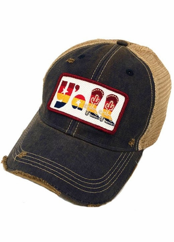 Y'All Boots Patch Trucker Hat