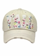 Y'All Floral Patch Vintage Baseball Hat inset 2
