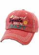 YOU AND TEQUILA MAKE ME CRAZY Washed Vintage Ballcap inset 2