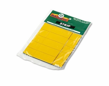 """1/2 Inch 25 Pack 1/2"""" Tall x 1"""" Wide 25/Pkg Yellow"""