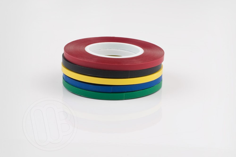 1 8 inch x 324 inches vinyl chart tape red