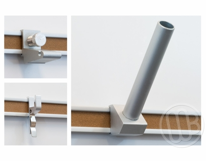 2 Inch Map and Display rail accessories