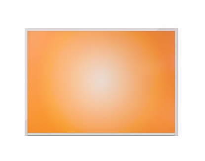 "32"" x 45.5"" Orange Sunburst Dye Sub Dry Erase Board"