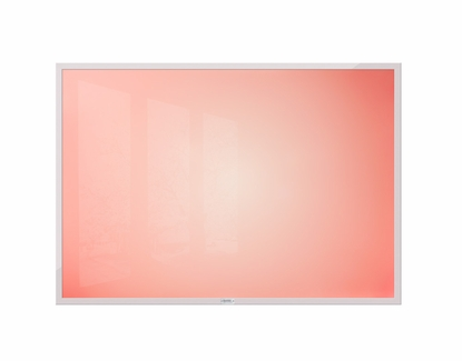 "32"" x 45.5"" Red Sunburst Dye Sub Dry Erase Board No Tray"