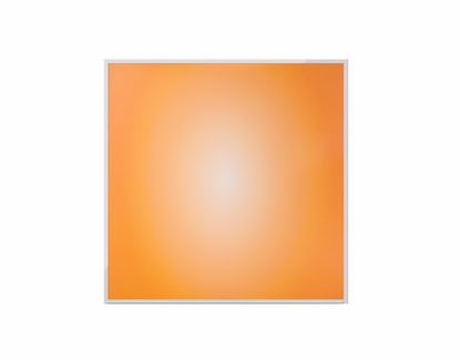 4' x 4' Orange Sunburst Dye Sub Dry Erase Board