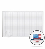 4 x 6 Dry Erase Board with Grid