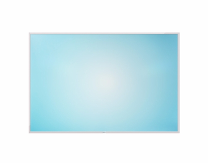 4' x 6' Teal Sunburst Dye Sub Dry Erase Board No Tray