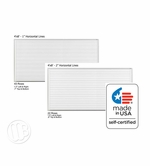 4 x 8 Lined Dry Erase Boards