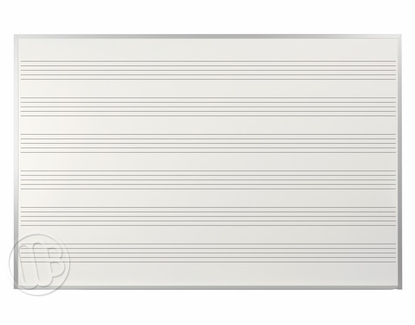 5' x 8' Magnetic Music Board
