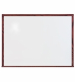 5' Tall Mahogany Whiteboards