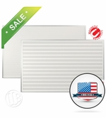 5' x 8' Horizontal Lined Dry Erase Board