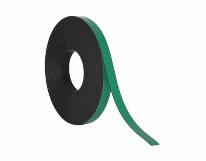 "50' Rolls of Write On Wipe Off Magnetic Strips 2"" Wide x 50' Roll Green"