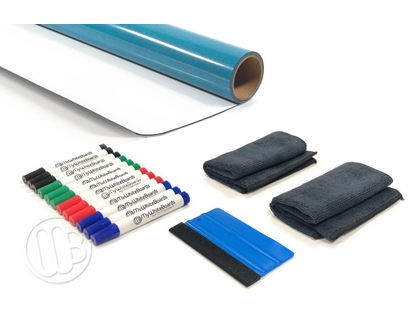 8' Classroom Whiteboard Resurfacing Kit