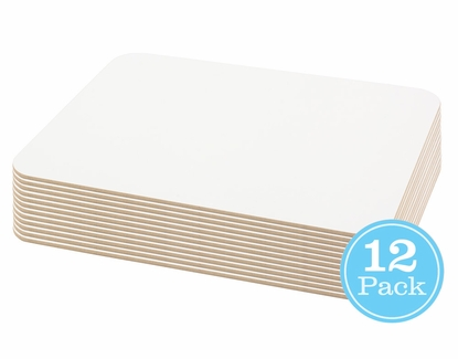 9x12 Lapboard Single Sided 12 Pack