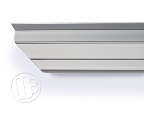 Atlas Aluminum Marker Tray with Angled Corner
