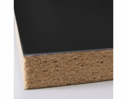 Black Magnetic Chalkboard Panel