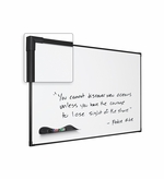 Black Ultra-trim Magnetic Whiteboard