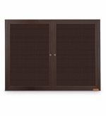 Bronze Outdoor Letter Board Cabinet