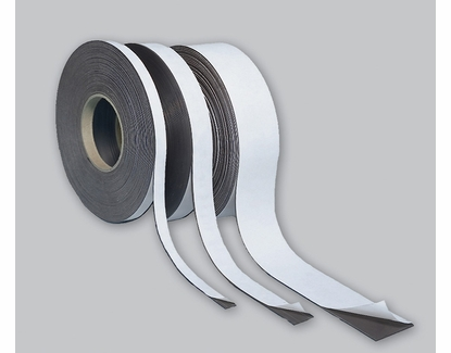 """Business Card Magnetic Strips with Adhesive Backing .020 x 3.5"""" x100' Scored every 2"""" 600 Cards"""