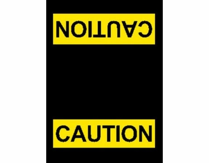 Caution Safety Mat