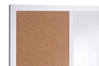 Cork and Whiteboard Combination Boards