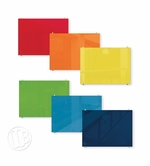 Colored Magnetic Glass Dry Erase Marker Boards