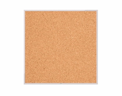 Cork Boards with Aluminum Trim 4' Tall x 4' W