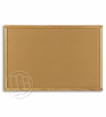 Cork Boards with Oak Wood Trim