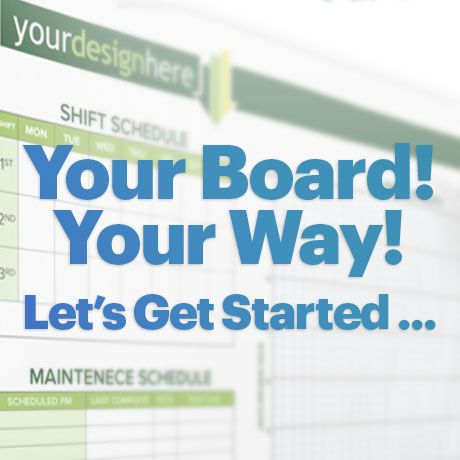 Custom Printed Whiteboards and Dry Erase Boards