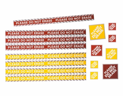 """Do Not Erase Magnets Set of 8 42"""" Strips Only"""