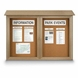Double Door Outdoor Message Center