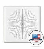 Dry Erase Polar Grid Boards