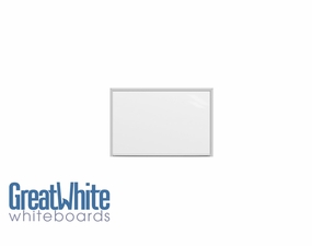 Great White Magnetic Whiteboards 2' Tall x 3' W