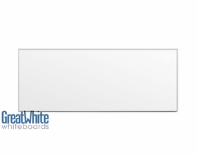 Great White Magnetic Whiteboards 4' Tall x 10' W