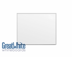 Great White Magnetic Whiteboards 4' Tall x 5' W