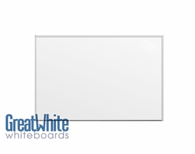 Great White Magnetic Whiteboards 4' Tall x 6' W