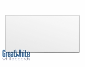 Great White Magnetic Whiteboards 4' Tall x 8' W