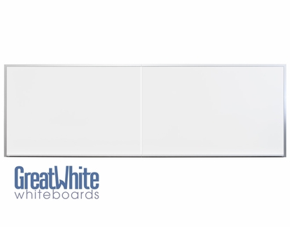 Great White® Magnetic Whiteboards 2 Piece 4' x 12'