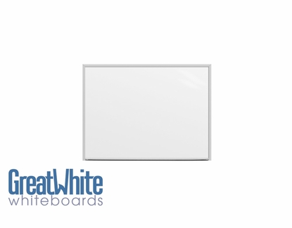 Great White® Magnetic Whiteboards 3' Tall x 4' W