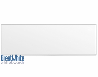 Great White® Magnetic Whiteboards 4' Tall x 12' W