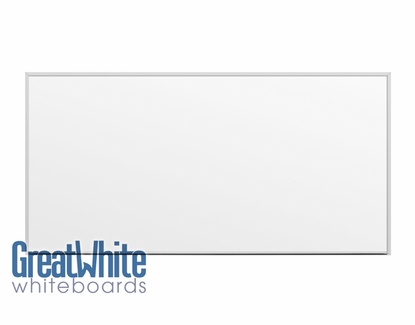 Great White® Magnetic Whiteboards 4' Tall x 8' W