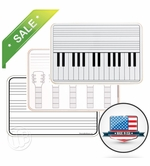 Handheld Dry Erase Music Boards
