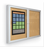Indoor Enclosed Bulletin Boards