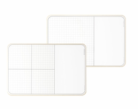 Large Grid and XY Lap Boards with Work Space